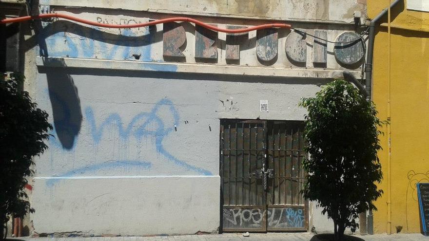 El refugio de la calle Serranos tenia capacidad para 300 personas