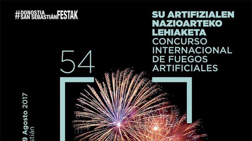 Los fuegos artificiales son uno de los principales atractivos de las fiestas. Este año se celebra la 54.ª edición del certamen.