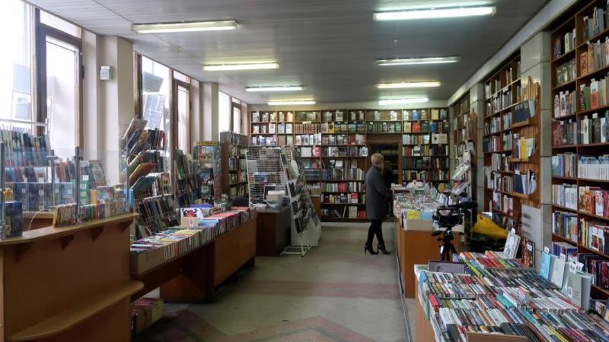 Una librería, arte y parte de las revoluciones ucranianas