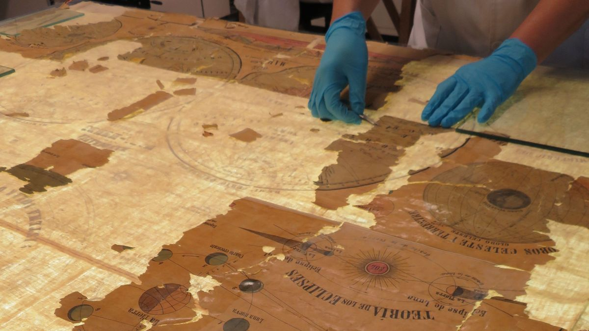 Los mapas del siglo XIX