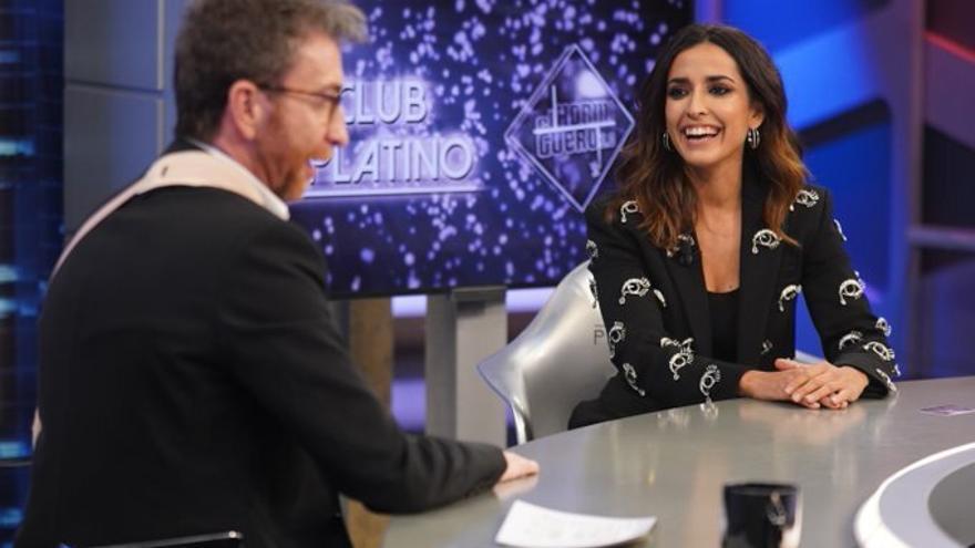 Inma Cuesta y Pablo Motos, en 'El Hormiguero'