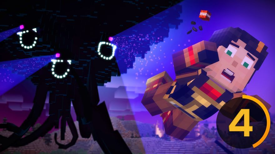 Minecraft: Story Mode. Episodio 3. The Last Place you Look