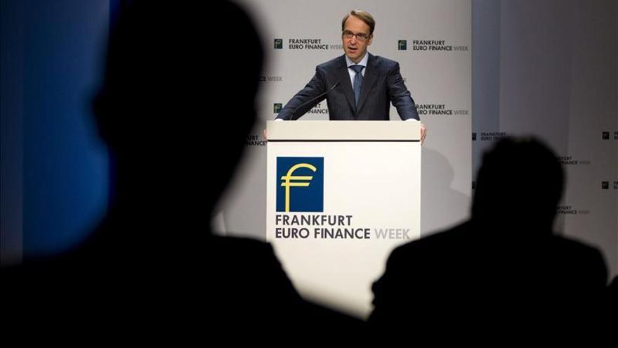 El Bundesbank ve mejores perspectivas económicas a comienzos de 2013