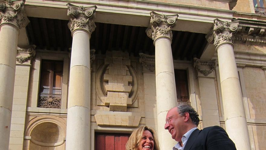 """Trinidad Jiménez asegura que el PSOE quiere una """"mayoría fuerte"""" para hacer frente a las políticas del PP"""
