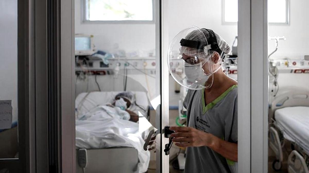 El AMBA registró en promedio una ocupación del 94% de las camas de terapia intensiva
