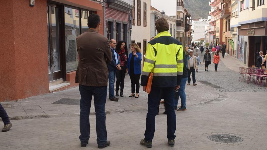 Nueva imagen de la calle Pérez de Brito tras las obras.