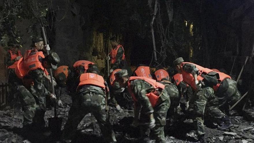 Un terremoto de 5,7 grados de magnitud afecta a la región china de Xinjiang