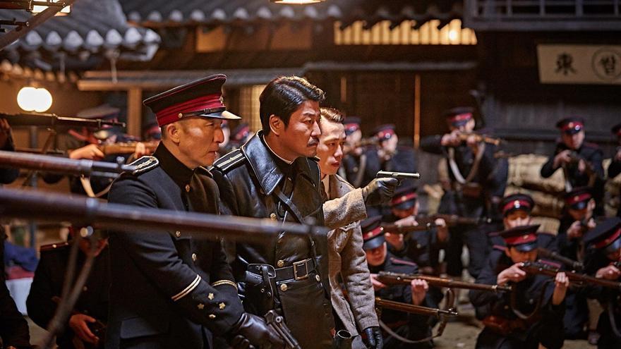 El protagonista de 'El imperio de  las sombras'  se debate entre las fuerzas ocupantes y la resistencia en Corea del Sur
