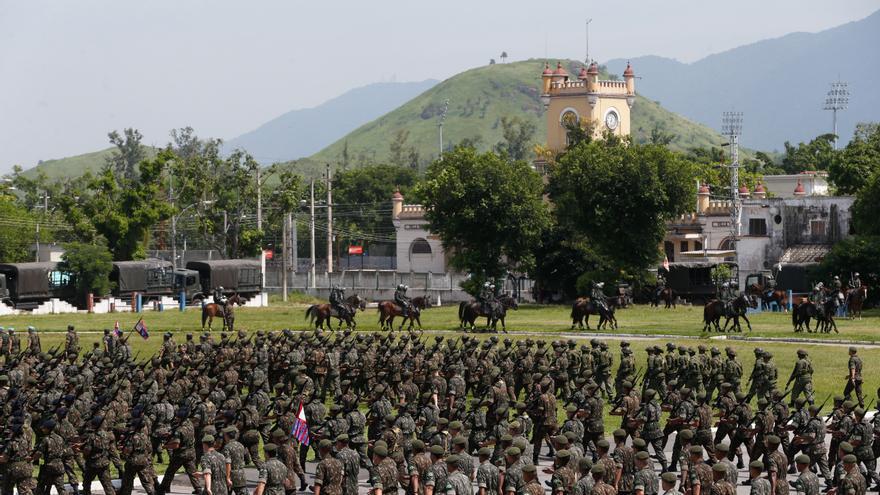 La Vila Militar de Deodoro, en Rio de Janeiro, acuartelamiento próximo a la zona donde el Ejército tiroteó el vehículo en el que viajaba el músico fallecido.