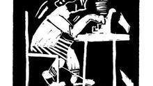 Viñeta extraída del libro 'Tiras cómicas' (Nórdica) de Flannery O'Connor.