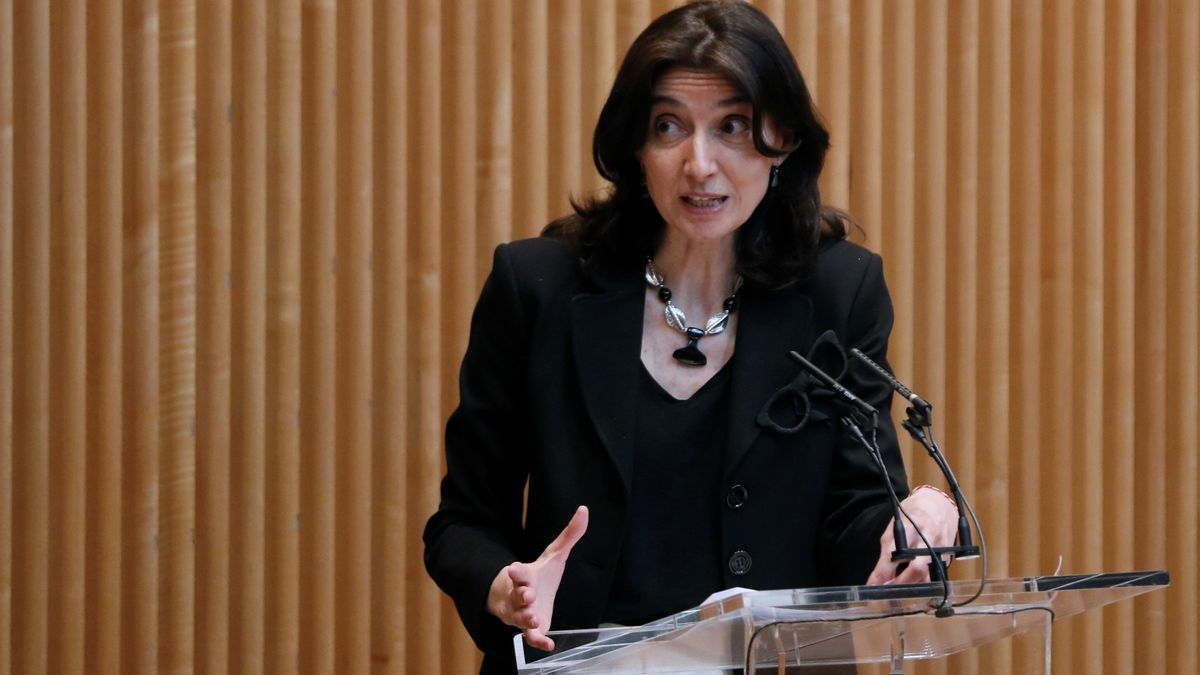 La presidenta del Senado, Pilar Llop. EFE/Mariscal/Archivo