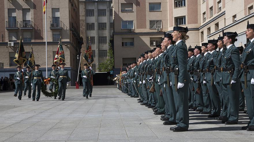 Celebraciones en la Guardia Civil por el 30 aniversario de la incorporación de la mujer