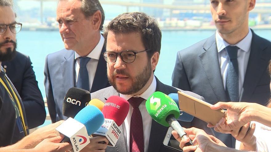 """Aragonès (ERC) a Sánchez: """"No tiene sentido pedir el voto de ERC y avalar la prisión de su líder"""""""