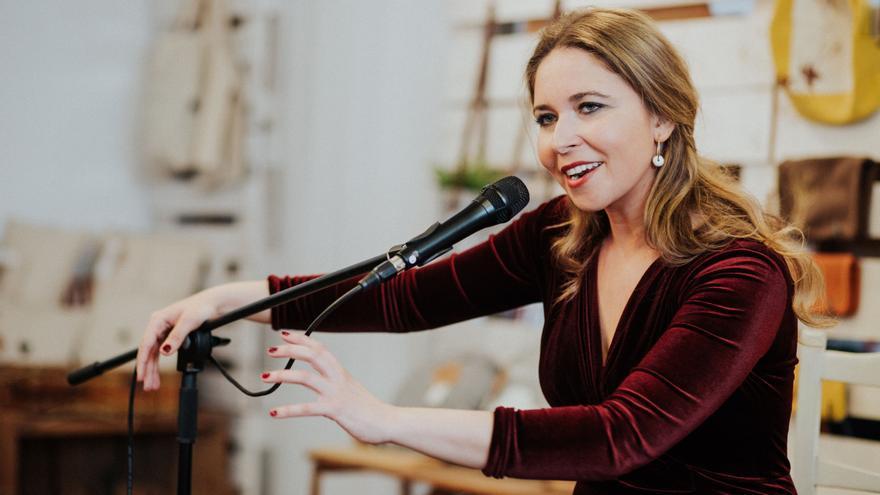 La cantaora Rocío Márquez en Tejemaneje / Nuria Jean