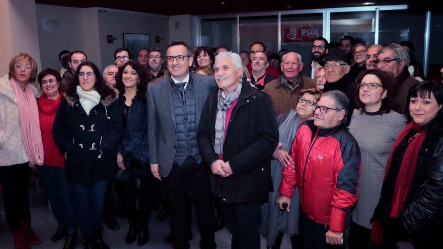 Francisco Saavedra es elegido por aclamación candidato del PSOE a la alcaldía de Alcantarilla