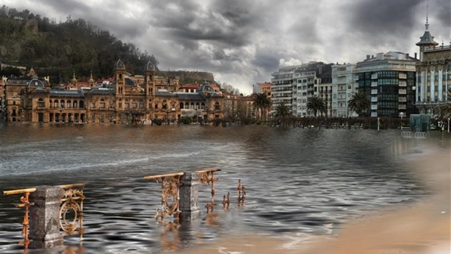 El cambio clim tico podr a dejar a donostia sin playa - Clima en donostia san sebastian ...