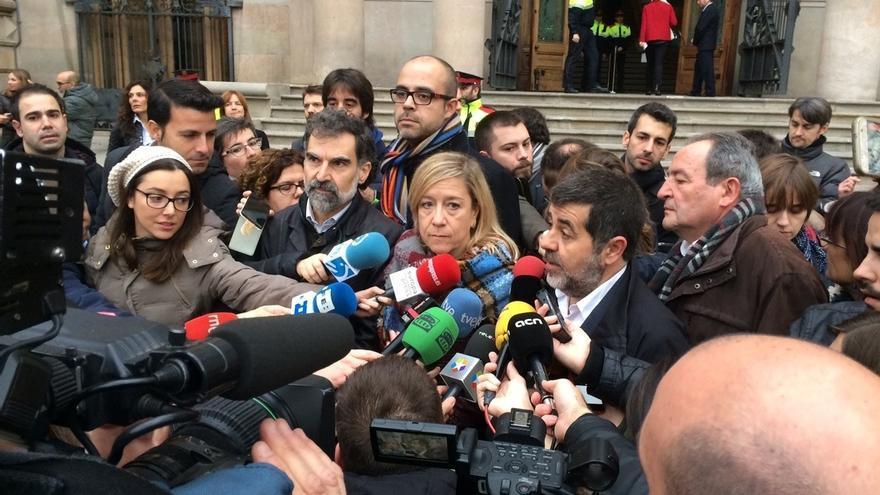 """Presidente de la ANC: """"Indigna a la sociedad catalana la doble vara de medir de la justicia española"""""""