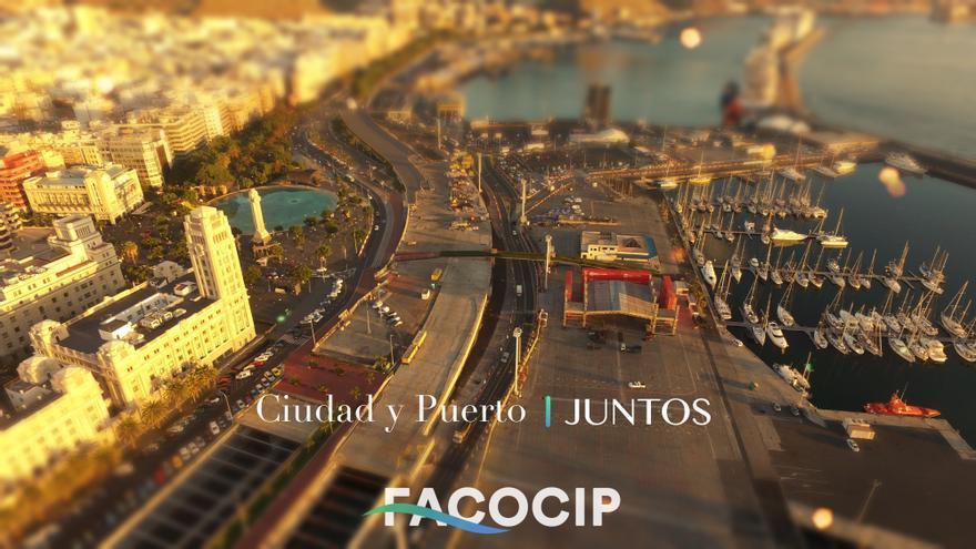 Imagen promocional de Facocip: 'Ciudad y puerto, juntos'