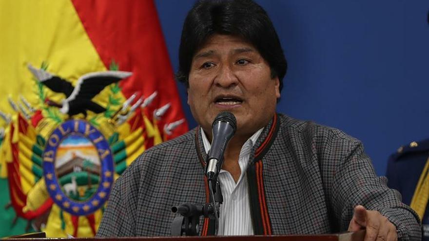 """Evo Morales condena """"enérgicamente el intento de golpe de Estado en Venezuela"""""""