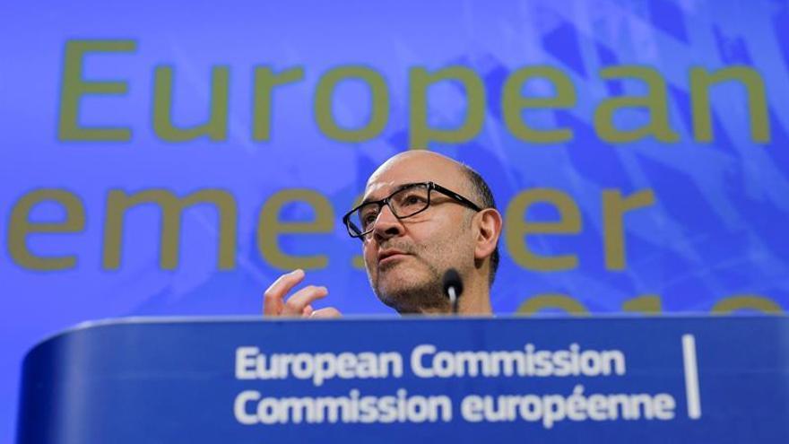 Moscovici recalca que una guerra comercial no es la solución a los aranceles