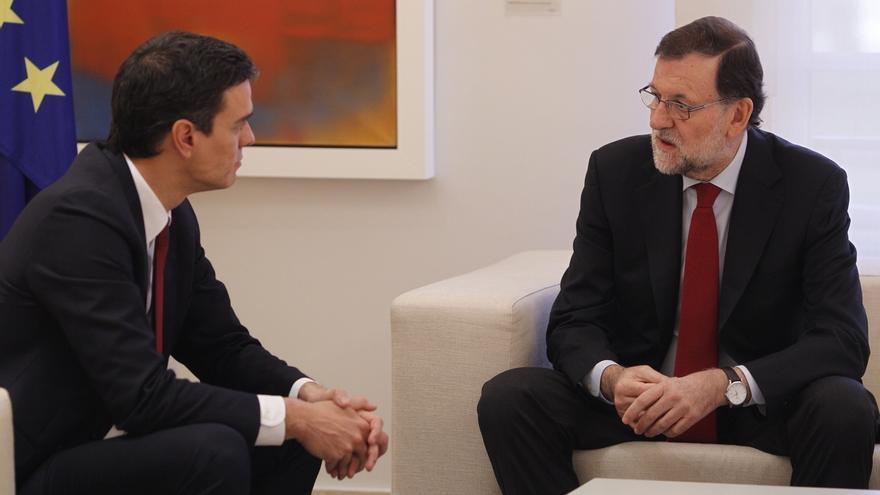 Rajoy buscará este jueves el apoyo de Pedro Sánchez para hacer frente al desafío independentista
