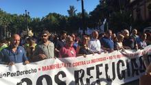 Miles de personas se manifiestan en Andalucía a favor de los derechos de las personas refugiadas