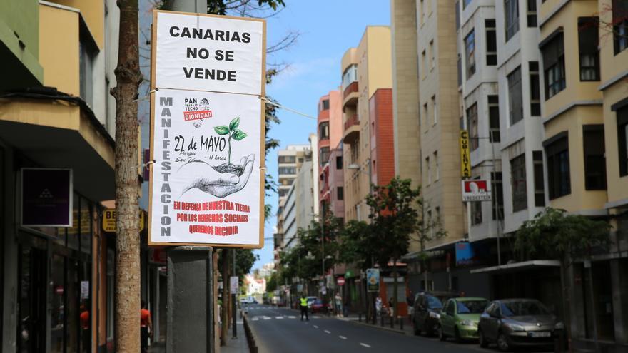 Marcha por la dignidad en Las Palmas de Gran Canaria. Alejandro Ramos.