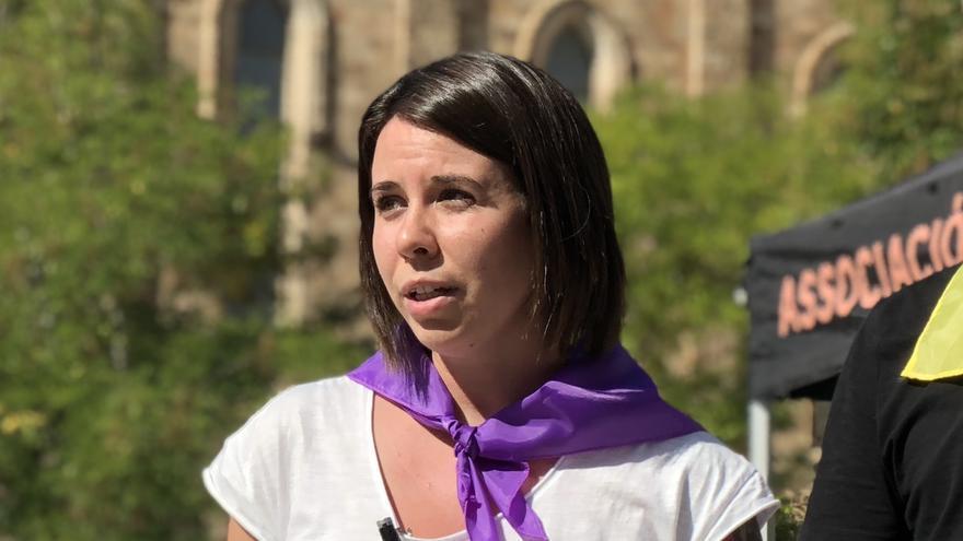 Natalia Oriol, educadora y activista de la asociación animalista LIBERA