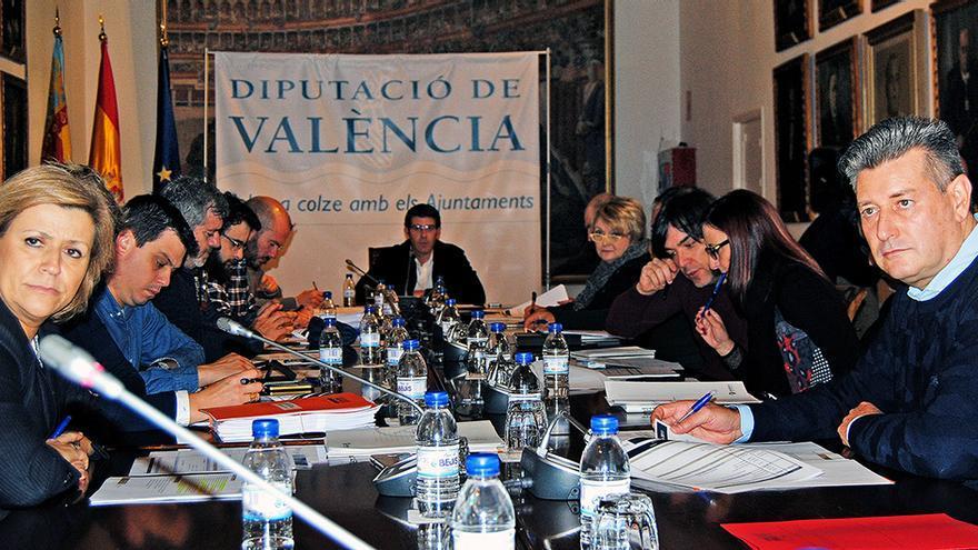 El consejo de administración de Divalterra, presidido por Jorge Rodríguez