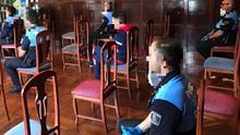 Reunión de coordinación de la Policía Local.