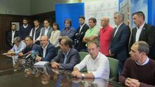 Los alcaldes de La Palma abordan el estado del Fdcan en un momento crítico para los fondos de 2017