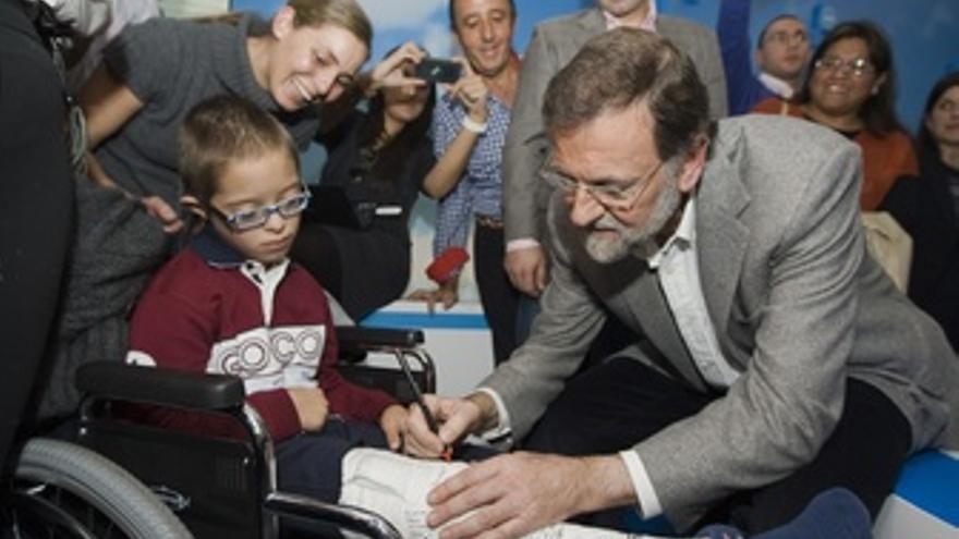 Mariano Rajoy En Un Mitin En Badajoz