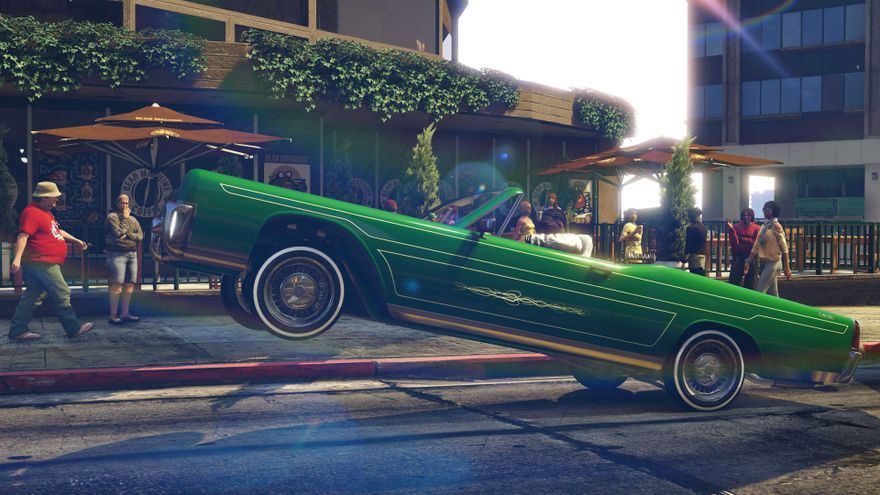 GTA V Lowriders