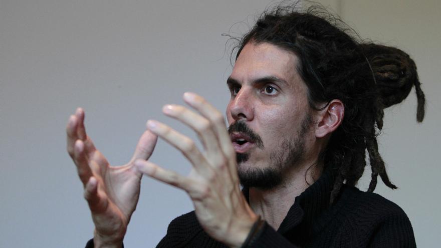 Alberto Rodríguez, portavoz de Podemos en la comisión de Empleo del Congreso