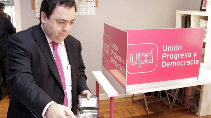 Rafael Delgado, candidato de UPyD a la presidencia de la Junta de Castilla y León