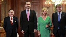 """Don Felipe pide ante el foro hispano-alemán huir de """"actitudes insolidarias"""""""