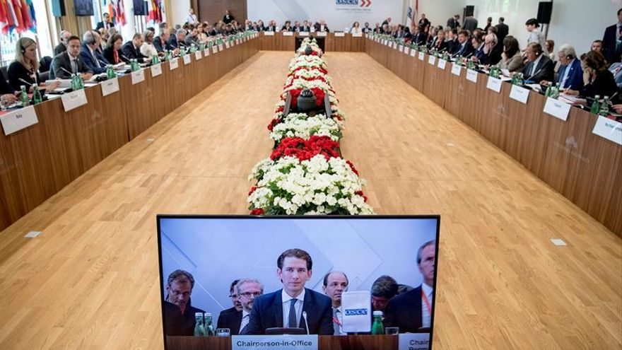 OSCE inicia una reunión de ministros con la llamada a más voluntad de acuerdos