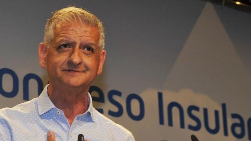 Francisco Linares, en una imagen del recién celebrado Congreso Insular de Tenerife