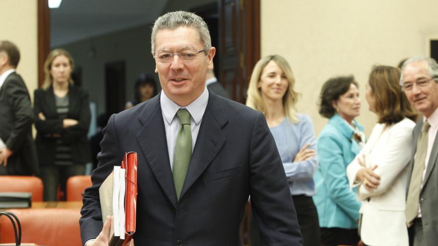 """Gallardón no se pronuncia sobre los casos Nóos y Bárcenas y afirma que no debe haber """"intromisión"""" del Gobierno"""