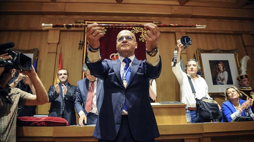 José Luis Baltar Blanco, el día de su toma de posesión como presidente provincial