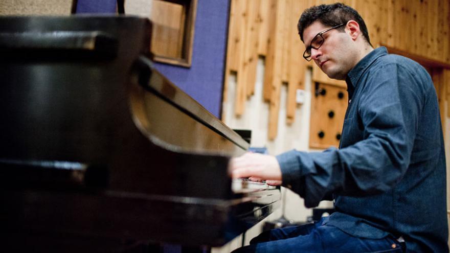 El pianista británico Barry Green durante uno de sus conciertos.   EFE