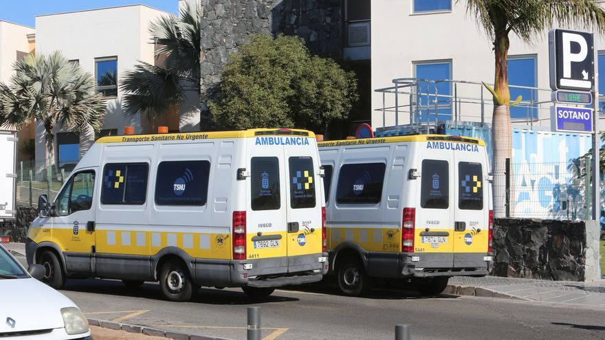Ambulancias canarias.