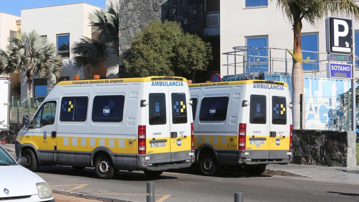 Ambulancias canarias.
