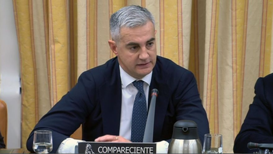 El exsecretario general del PP valenciano Ricardo Costa, durante su comparecencia en el Congreso de los Diputados