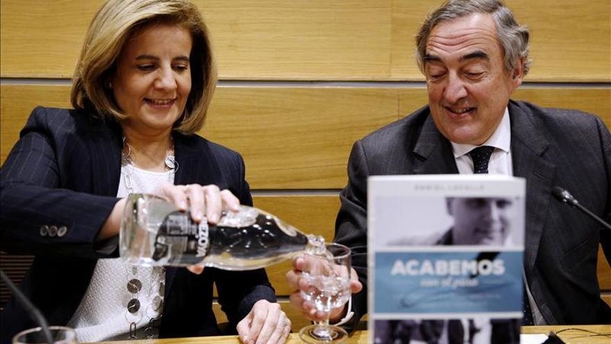 """Báñez ensalza su reforma laboral, que situó el despido """"como último recurso"""""""