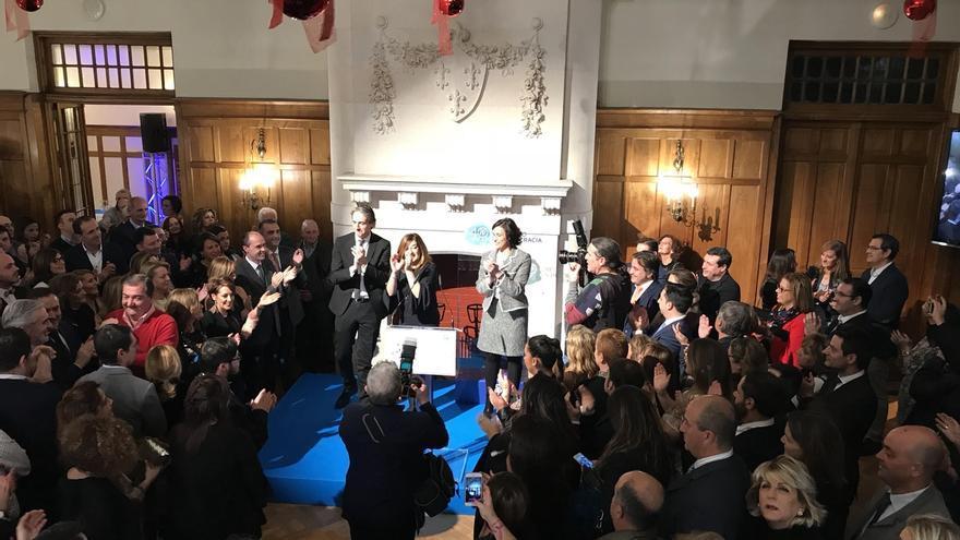 """Sáenz de Buruaga dice que el PP está """"más vivo que nunca"""" y volverá a ser """"una máquina de ganar elecciones"""""""