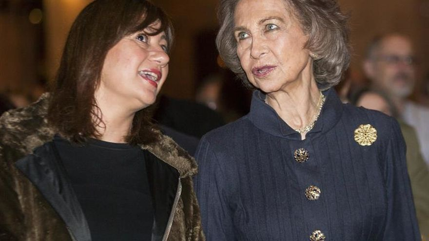 Doña Sofía, en la clausura de Año Jubilar por 700 aniversario de la muerte de Llull