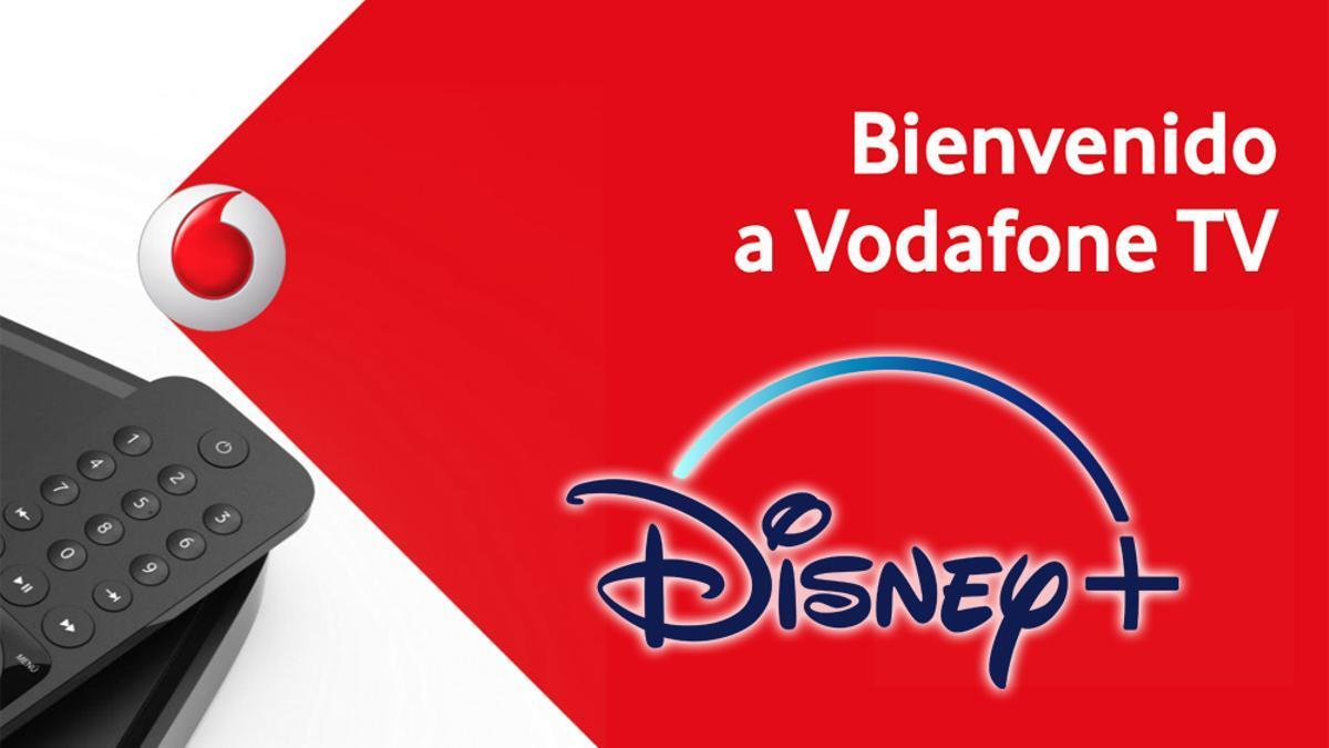 Vodafone TV integra Disney+