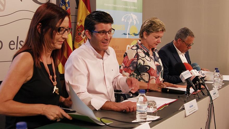 Imatge de la presentació de la nova edició de la Fira de les Comarques a la Diputació de València