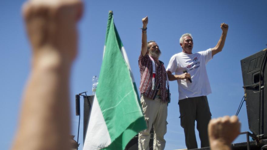 El SAT empieza en Granada su marcha obrera contra los recortes